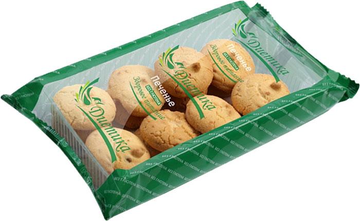 Диетика печенье ореховое, 200 г santa bakery ассорти печенье сдобное 750 г 12 видов