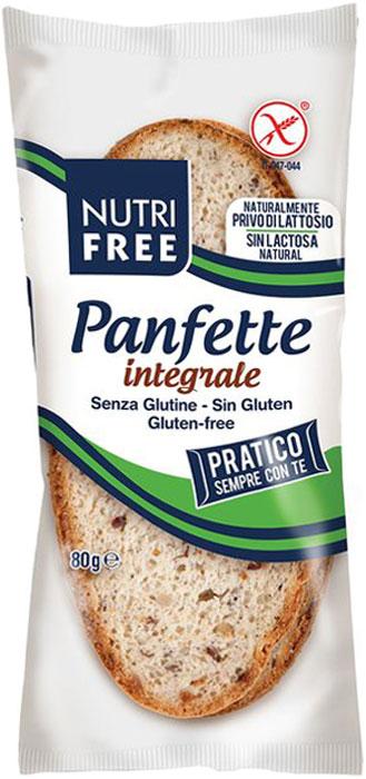 Nutrifree Panfette rustico multicereale хлеб деревенский многозерновой, 80 г хлебная смесь чесночный хлеб