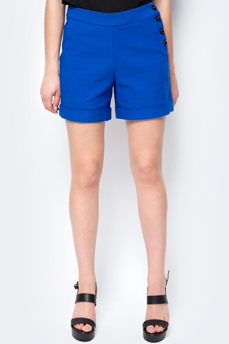 Шорты женские adL, цвет: голубой. 17033987000_022. Размер XS (40/42) шорты женские columbia sandy river printed short цвет голубой 1712001 732 размер xs 42