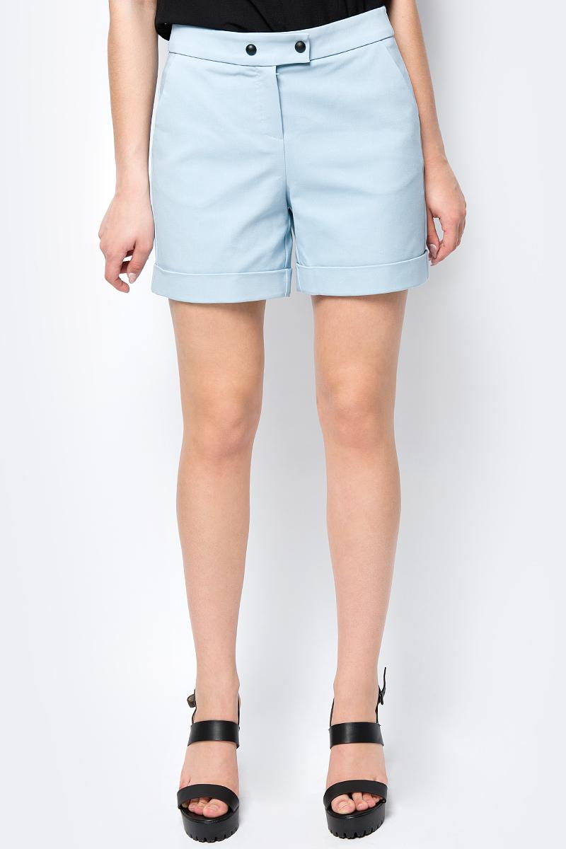 Шорты женские adL, цвет: голубой. 17033970000_035. Размер XS (40/42) шорты женские