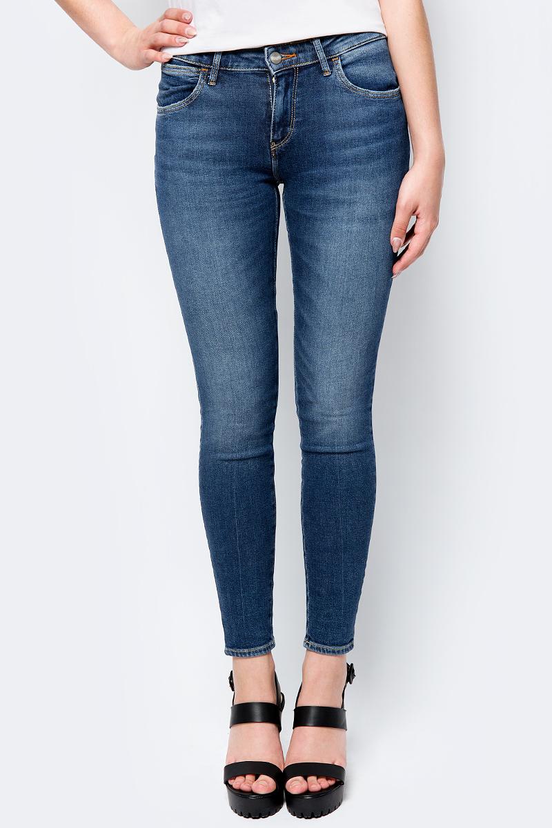 Джинсы женские Wrangler Skinny, цвет: синий. W28KQB14E. Размер 31-30 (46/48-30) джинсы wrangler wrangler wr224ewbohs8