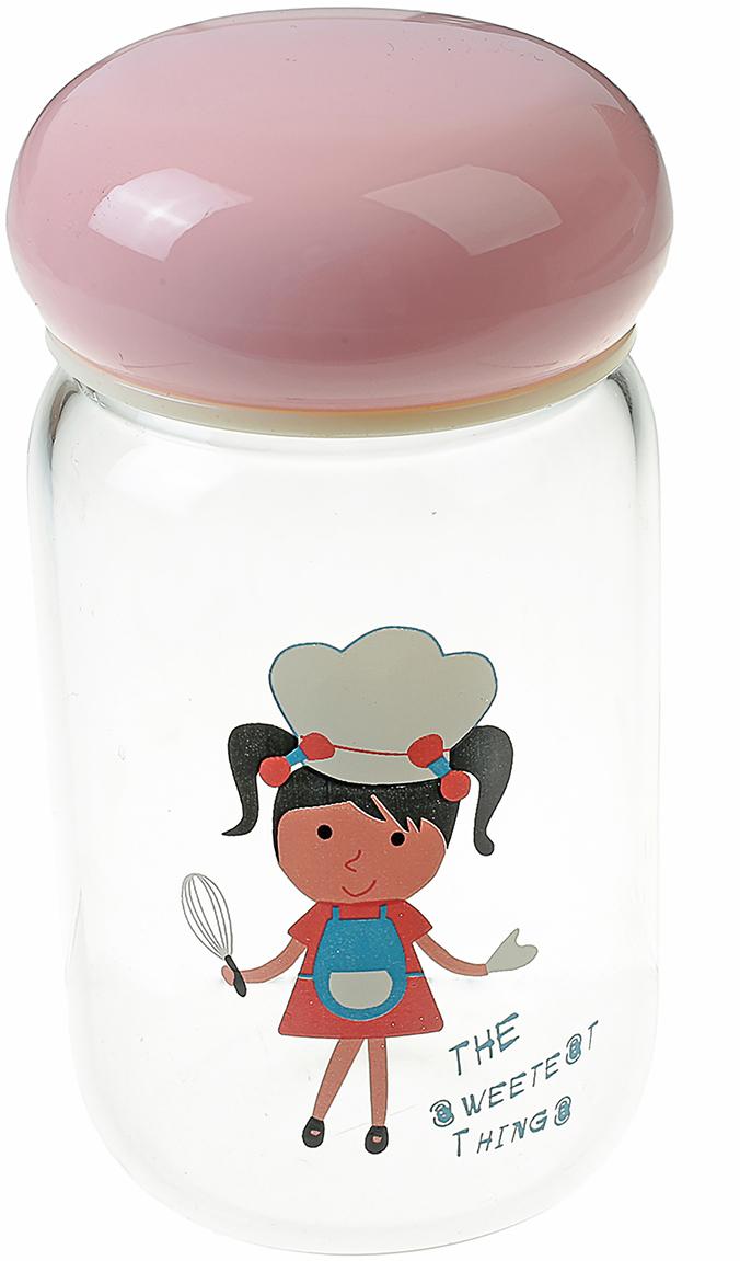 Бутылка Любимый напиток, цвет: розовый, 350 мл2367854_розовыйОт качества посуды зависит не только вкус еды, но и здоровье человека. Бутылка - товар, соответствующий российским стандартам качества. Любой хозяйке будет приятно держать его в руках. С данной посудой и кухонной утварью приготовление еды и сервировка стола превратятся в настоящий праздник.