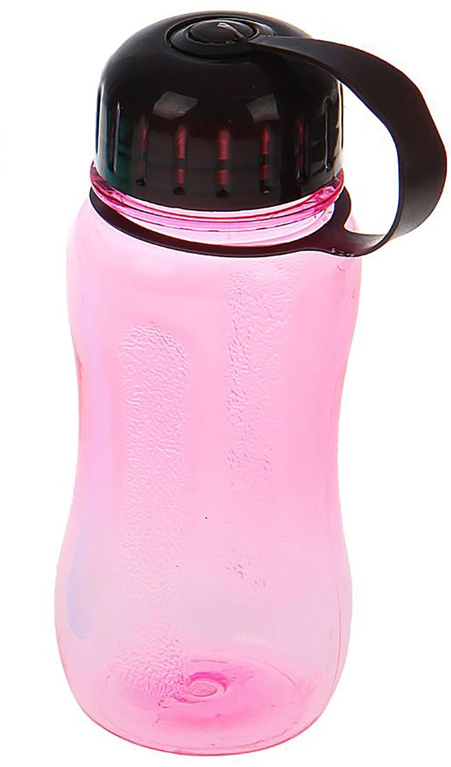 Бутылка, цвет: розовый, 400 мл