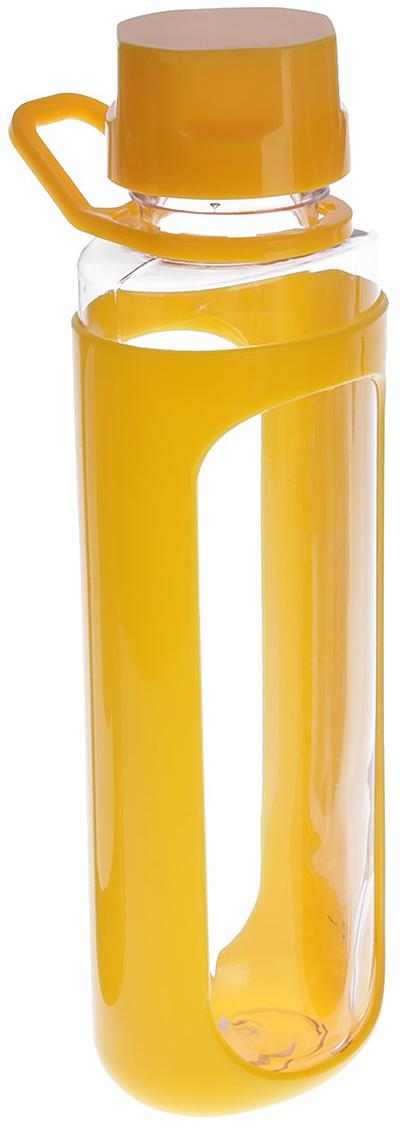 Бутылка Модерн, цвет: желтый, 600 мл1684722_желтыйОт качества посуды зависит не только вкус еды, но и здоровье человека. Бутылка - товар, соответствующий российским стандартам качества. Любой хозяйке будет приятно держать его в руках. С данной посудой и кухонной утварью приготовление еды и сервировка стола превратятся в настоящий праздник.