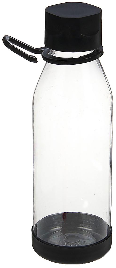 Бутылка Модерн, цвет: черный, 600 мл1684723_черныйОт качества посуды зависит не только вкус еды, но и здоровье человека. Бутылка - товар, соответствующий российским стандартам качества. Любой хозяйке будет приятно держать его в руках. С данной посудой и кухонной утварью приготовление еды и сервировка стола превратятся в настоящий праздник.