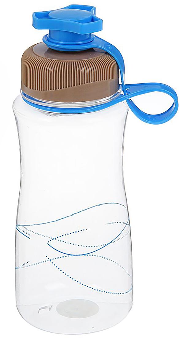 Бутылка, с крышкой-клапаном, цвет: синий, 600 мл1684744_синийОт качества посуды зависит не только вкус еды, но и здоровье человека. Бутылка - товар, соответствующий российским стандартам качества. Любой хозяйке будет приятно держать его в руках. С данной посудой и кухонной утварью приготовление еды и сервировка стола превратятся в настоящий праздник.