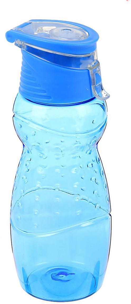 Бутылка спортивная, фигурная, с поильником, цвет: синий, 700 мл2366702_синийОт качества посуды зависит не только вкус еды, но и здоровье человека. Бутылка - товар, соответствующий российским стандартам качества. Любой хозяйке будет приятно держать его в руках. С данной посудой и кухонной утварью приготовление еды и сервировка стола превратятся в настоящий праздник.