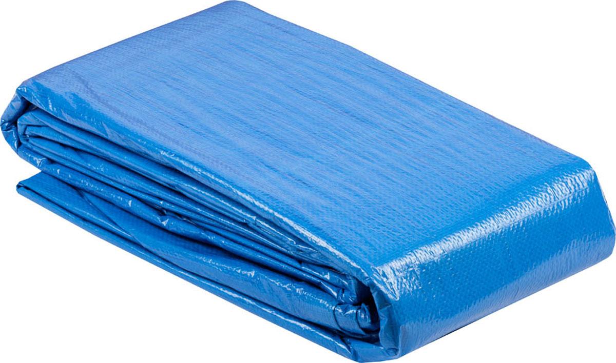 Универсальный водонепроницаемый тент-полотно Зубр серии Мастер -  надежная защита от дождя и непогоды, идеальный материал для укрытия.  Изготовлен из тканого двухслойного полимера. Благодаря наличию крепежных  отверстий и укрепленных краев возможно применение тента при перевозках.  Служит основанием под походную палатку.Предназначен для  многократного использования в любое время года. Длина: 6 м.  Ширина: 8 м.