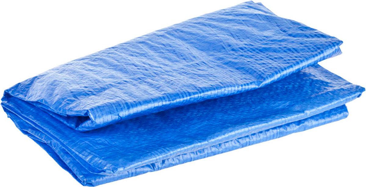 Универсальный водонепроницаемый тент-полотно Stayer серии Master -  надежная защита от дождя и непогоды, идеальный материал для укрытия.  Выполнен из тканого полимера плотностью 65 г/м3. Благодаря наличию  крепежных отверстий и укрепленных краев возможно применение тента при  перевозках. Предназначен для многократного использования в любое время  года. Длина: 2 м. Ширина: 3 м.