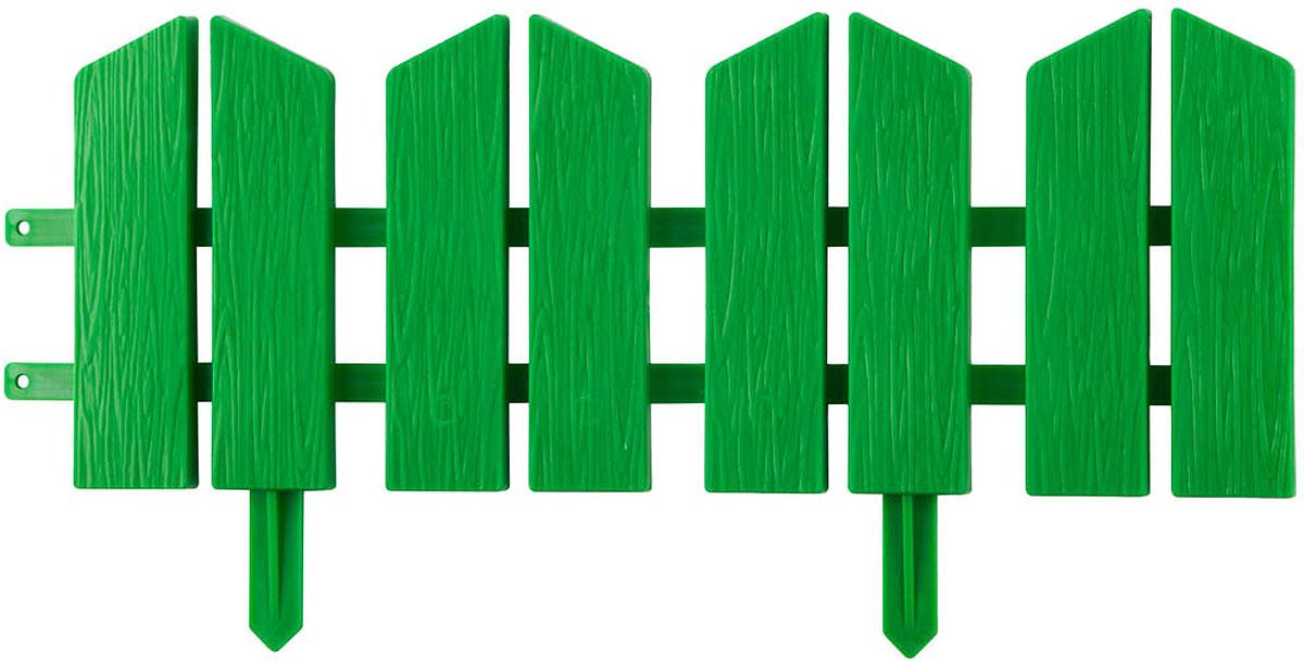 """Красиво оформить и украсить сад при проведении ландшафтных работ  призваны специальные высококачественные долговечные ограждения для  клумб и декоративные заборы. Различные формы и цвета способны воплотить  любые творческие замыслы, а высокопрочный атмосферостойкий пластик  обеспечит длительный срок службы изделий. Идеально подходит для  зонирования парка или сада. Изготовлен из полипропилена, устойчивого к  воздействию ультрафиолетовых лучей. Бордюр имеет гибкую форму и  поверхностную текстуру """"под дерево"""". Семь секций для формирования  необходимых зон на участке.- Материал: полипропилен.- Размер:  16Х300 см.- Цвет: желтый.- Количество секций: 7 шт."""