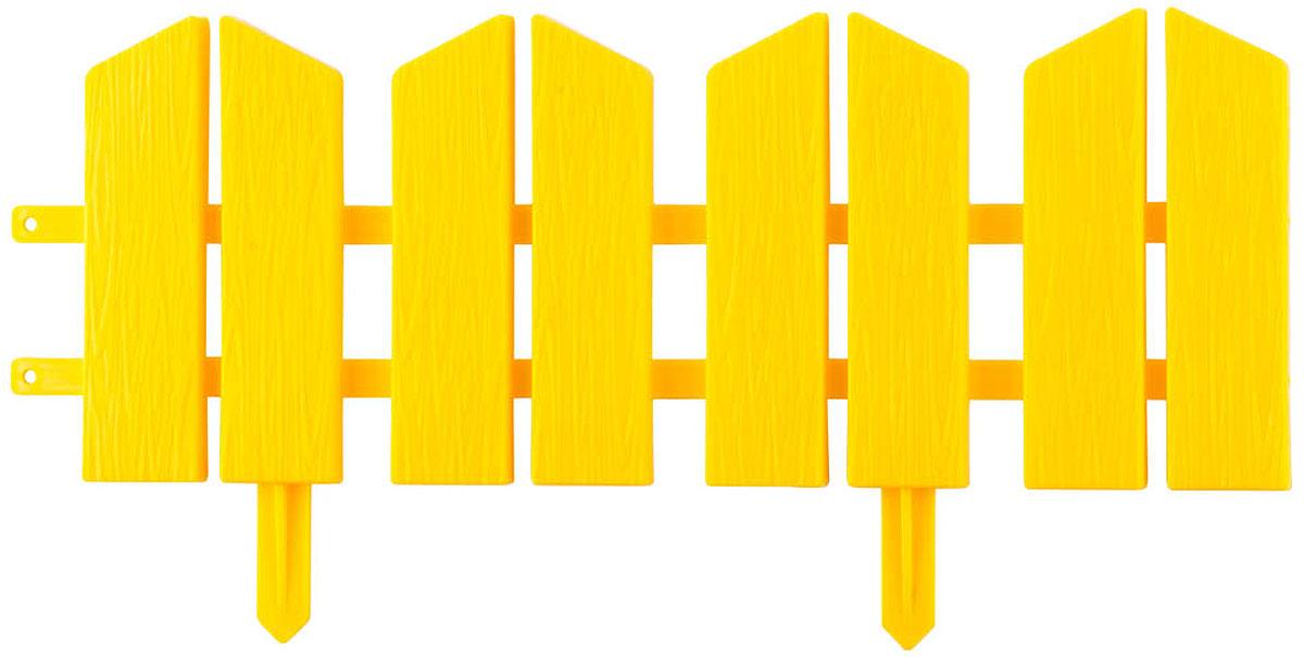 Бордюр декоративный Grinda Летний сад, цвет: желтый, 16 х 300 см бордюр декоративный grinda летний сад 422225