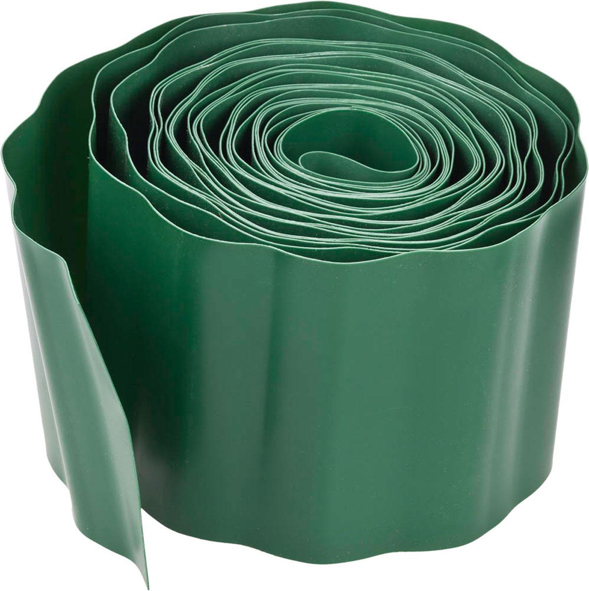цена на Лента бордюрная Grinda, цвет: зеленый, 15 см х 9 м
