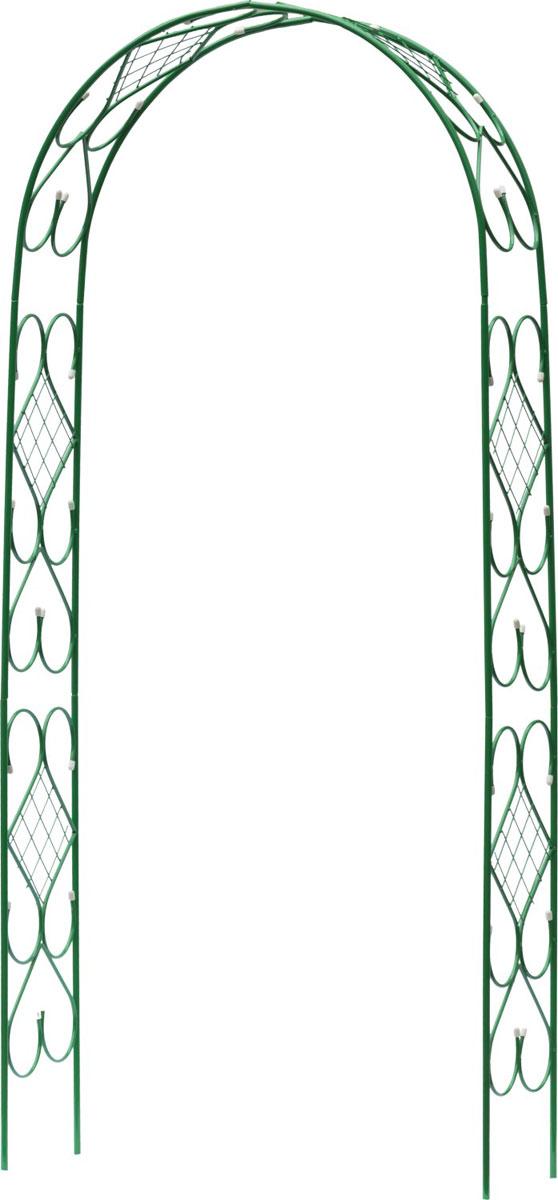 Арка декоративная Grinda Ар Деко, разборная, 240 х 120 х 36 см арка декоративная grinda ар деко разборная 240 х 120 х 36 см