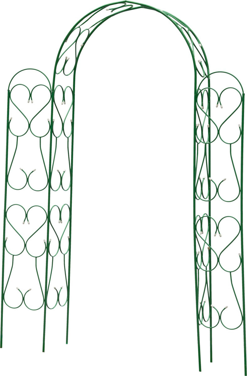 Арка декоративная Grinda Ампир, угловая, разборная, 240 х 120 х 36 см арка декоративная grinda ар деко разборная 240 х 120 х 36 см