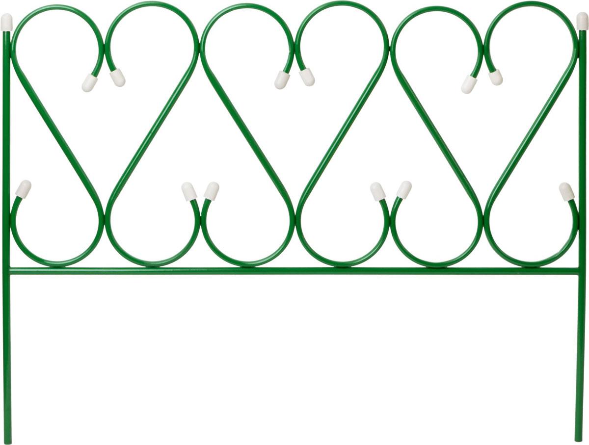 Забор декоративный Grinda Реннесанс, 50 x 345 см422263Многие владельцы загородных домов стараются обустроить свою территориюв соответствии с современными представлениями о парковом дизайне. Однакоесть интерьерные решения, которые насчитывают века своего существования.К таким решениям относятся садовы6е и декоративные арки. Используетсядля создания декоративных композиций из вьющихся растений при проведенииландшафтных работ. Применяется для ограждения садовых участков, газонови палисадников различной геометрической формы. Прочность конструкцииобеспечивается использованием стальной трубы диаметром 10 мм.Порошковая окраска изделия для защиты от коррозии.- Размер: 50x345 см. - Материал изделия: сталь. - Диаметр трубы: 10 мм.- Покрытиеизделия: порошковая окраска.