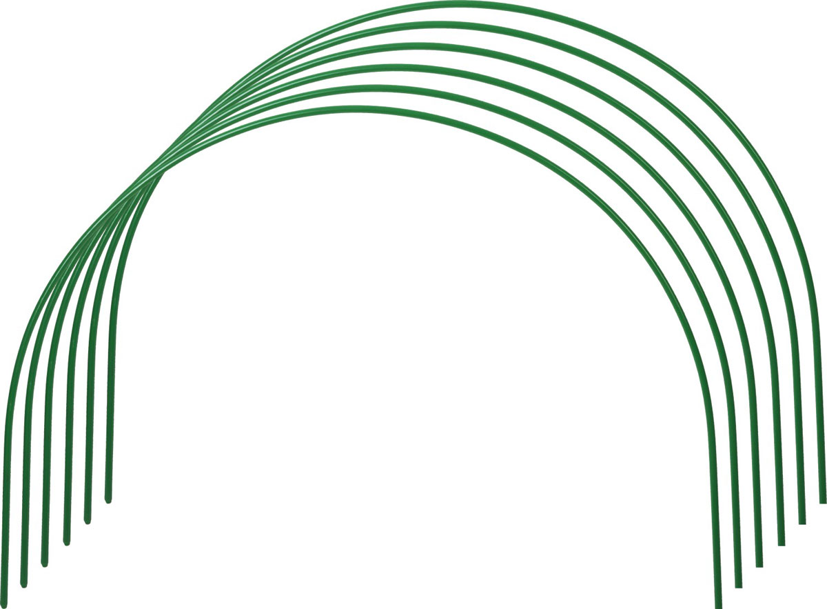 Дуги для парника Grinda, 2,5 м, 6 шт зажим для крепления пленки к каркасу парника garden show диаметр 20 мм 10 шт