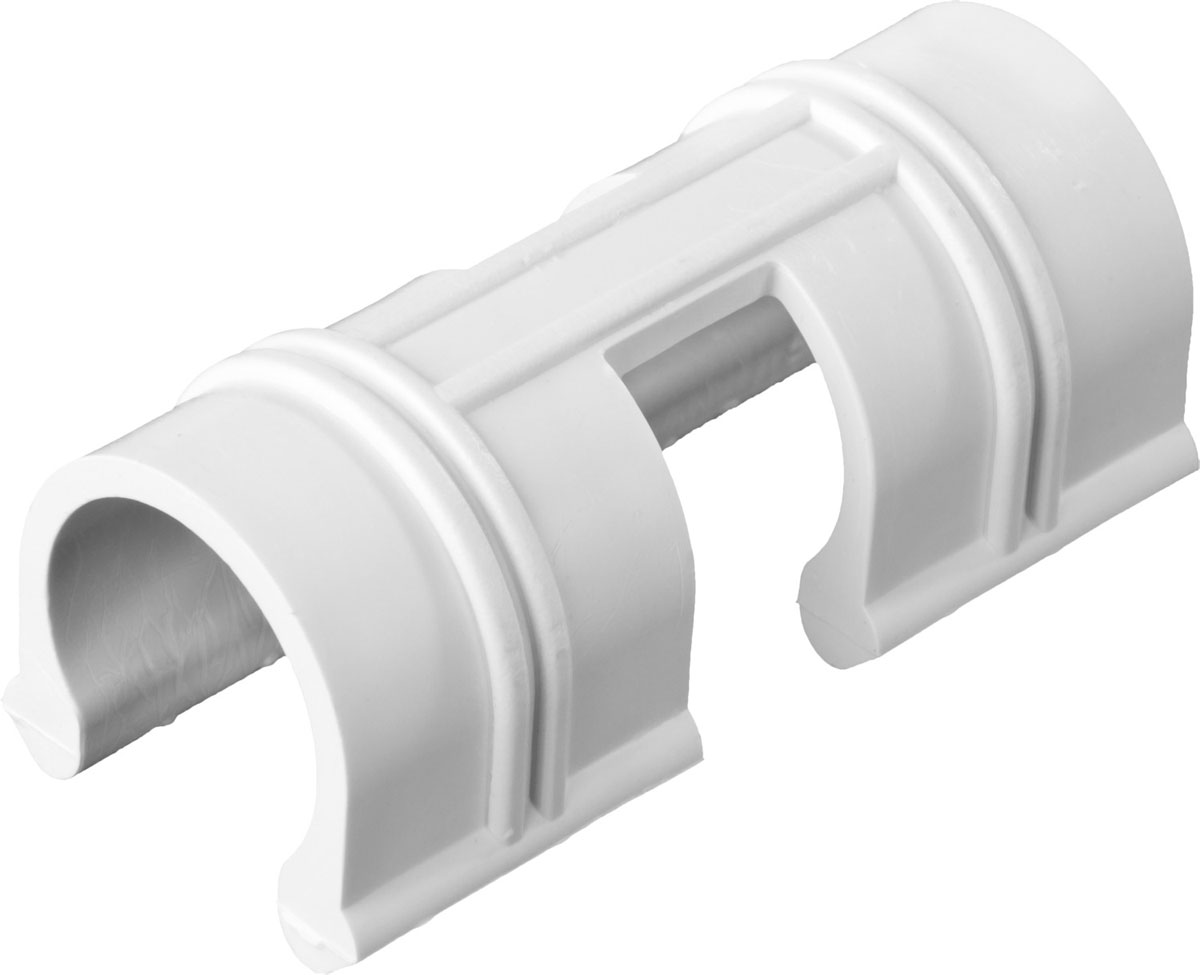 Зажим Grinda, для крепления пленки к каркасу парника, цвет: белый, диаметр 12 мм, 20 шт422317-12Зажим Grinda применяется для быстрого и удобного крепления пленки к каркасу парника. Изготовлены из долговечного и легкого пластика.