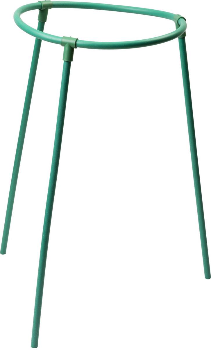 Подставка под цветы Grinda применяется для поддержки растений и придания  им необходимой формы. Изделие изготовлено из полипропиленовой трубы  диаметром 10 мм, обеспечивающей прочность и легкость конструкции, а  также защиту от коррозии. Размер: 30х50 см. Материал: труба  полипропиленовая диаметром 10 мм.