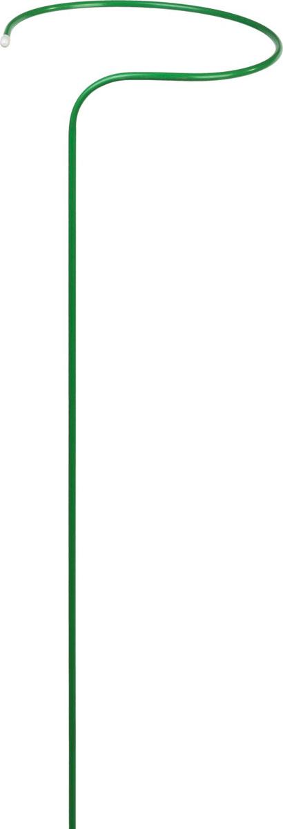 Опора Grinda для цветов применяется для поддержки растений и придания им необходимой формы. Прочность конструкции обеспечивается за счет использования стальной трубы диаметром 10 мм.Покрытие ПВХ надежно защищает изделие от коррозии. Размер: 40х120 см. Материал: стальная труба диаметром 10 мм, покрытая ПВХ.