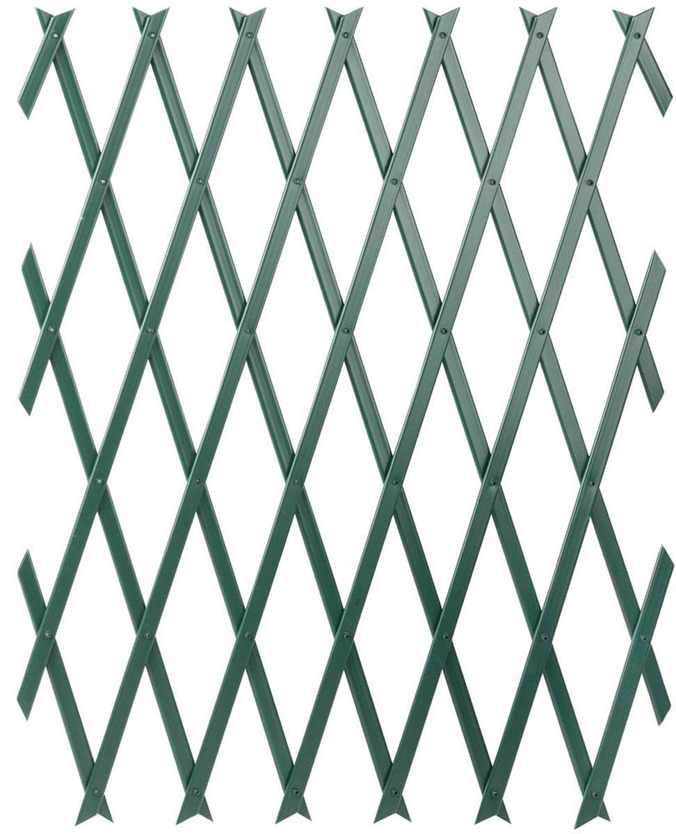 Ограда садовая Raco, цвет: зеленый, 50 х 150 см42359-54206GСадовая решетка – это декоративная изгородь для обустройства и украшенияцветников. Используется для построения ограждения по прямой и скругленнойлинии, служит прекрасной опорой для всех вьющихся растений. Долговечныйматериал не подвержен воздействию ультрафиолета и влаги. Решеткаоптимально подходит для всех вьющихся растений, таких как клематис,виноград, вьющаяся роза и других. Конструкция решетки позволяет построитьограждение по прямой или скругленной линии, а также придает декоративныйвид любой стене в саду и на балконе. Решетка устойчива к воздействию влаги иультрафиолетовых лучей, будет долго и надежно служить при любой погоде.Высота: 500 мм. Ширина: 1500 мм. Цвет: зеленый. Материализделия: полипропилен.