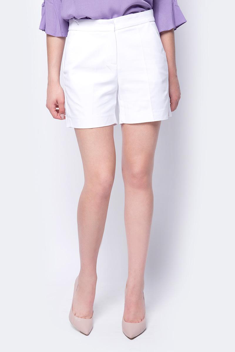 Шорты женские adL, цвет: белый. 17030400003_002. Размер XS (40/42)