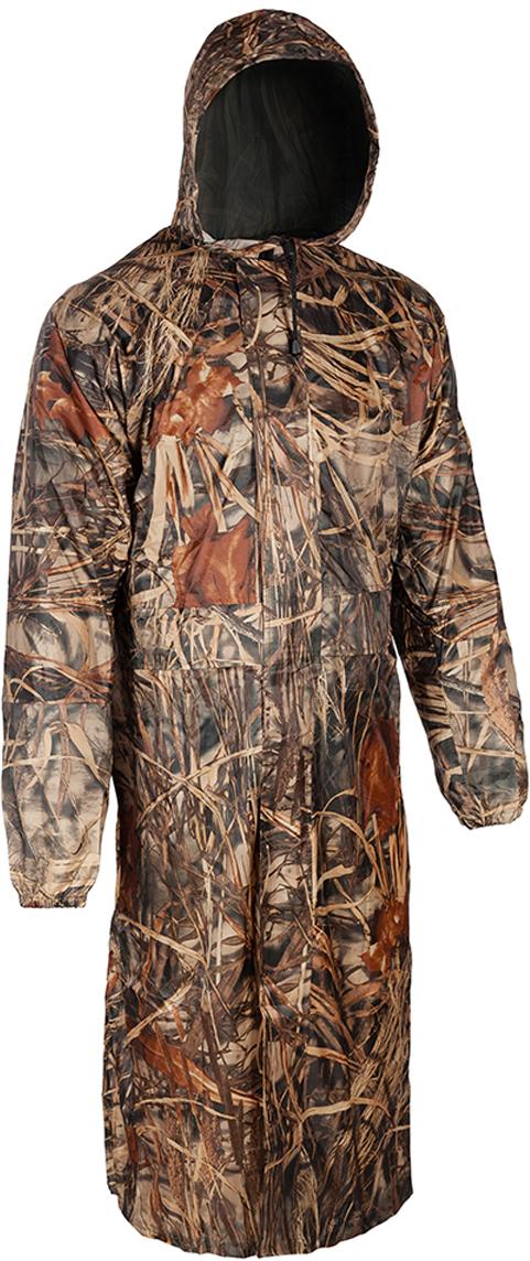 Плащ рыболовный мужской Huntsman Ливень, цвет: коричневый. lv_100. Размер 54lv_100-703Плащ рыболовный мужской Huntsman Ливень - это надежная и удобная защита от дождя, ветра и грязи. Надевается поверх любой одежды. Особенности модели: - отсутствие швов на плечах - проклеенные швы.- капюшон стягивается шнуром с фиксаторами. - два кармана под планкой.- двухзамковая молния закрыта планкой на липучках. - рукава на резинке. - непромокаемая ткань.