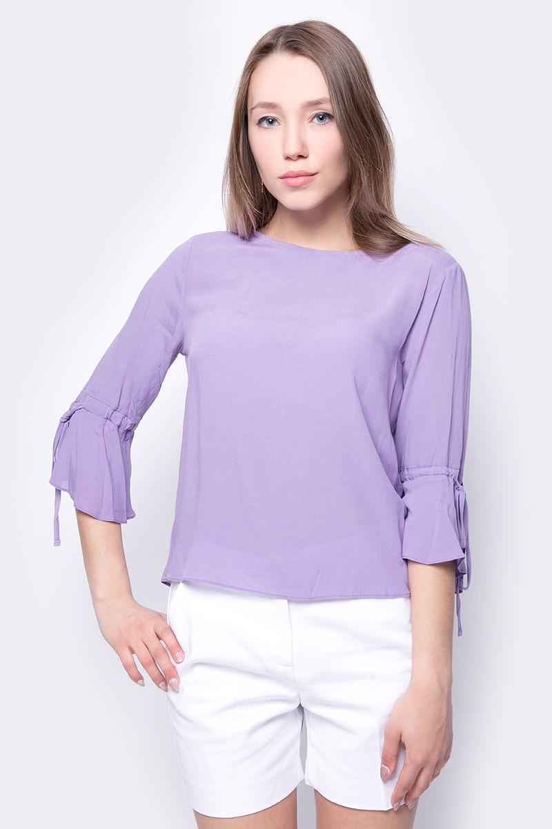Блузка женская adL, цвет: сиреневый. 11533456000_024. Размер XS (40/42)
