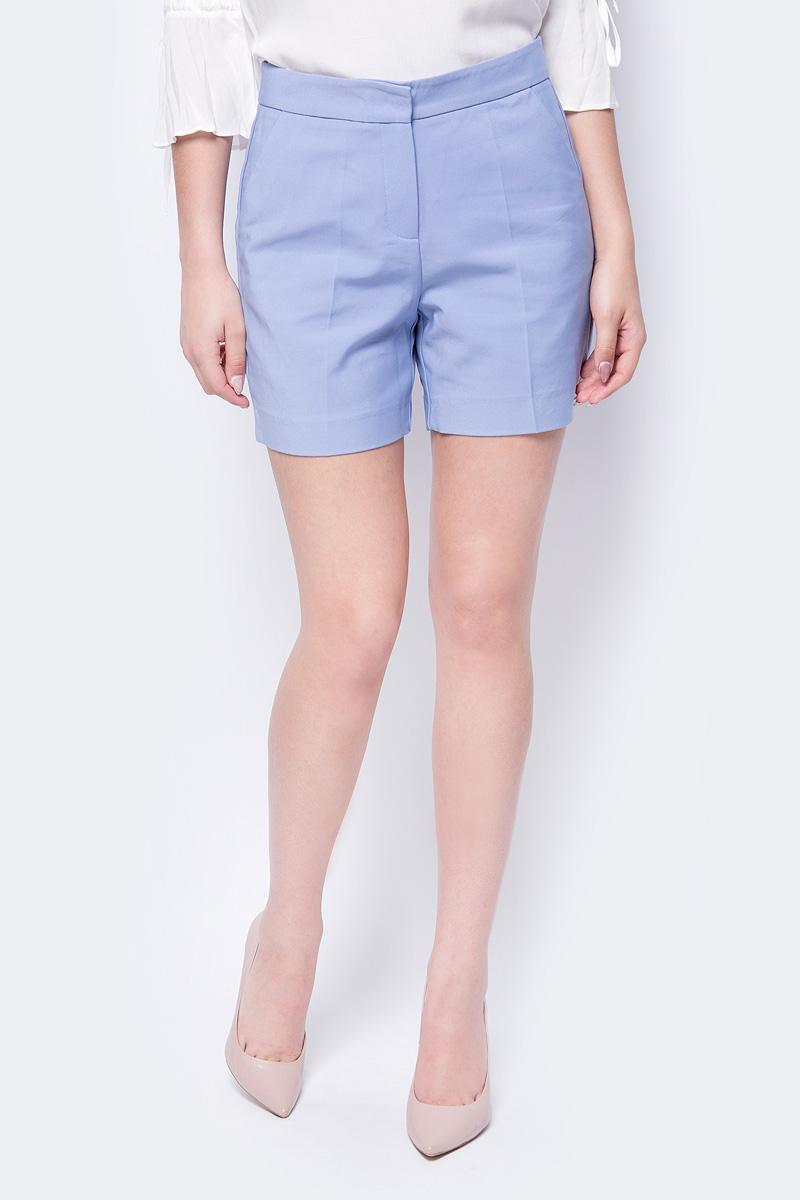 Шорты женские adL, цвет: светло-голубой. 17030400003_003. Размер XS (40/42) шорты женские roxy цвет синий erjns03135 btk0 размер xs 40