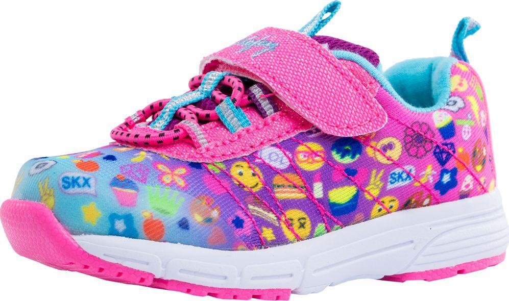 Кроссовки для девочки Котофей, цвет: розовый. 144077-71. Размер 24144077-71Кроссовки для девочек от Котофей выполнены из высококачественного текстиля дышащие, легкие, удобные, оформлены ярким рисунком и блёстками. Крепление на ноге осуществляется с помощью застежки-велькро и резинки, которые позволяют надежно фиксировать модель на ноге. Подошва из ЭВА позволяет добиться необходимой легкости, мягкости и эластичности, а накладка из легкого термопластичного материала обеспечивает надежное сцепление с любой поверхностью и защищает от скольжения во время движения. Небольшой заход на носочную часть в подошве увеличит долговечность и надолго сохранит приятный внешний вид обуви. Подкладка из текстиля обеспечит ногам удобство и уют. Кроссовки «Котофей» – лучшее решение для подвижных детей.