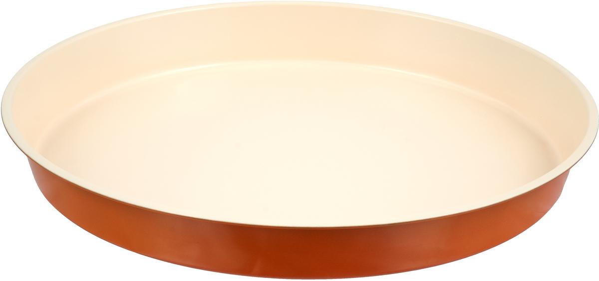 Форма для выпечки с керамическим покрытием - один из самых важных предметов на кухне  хорошей хозяйки. С качественной посудой радовать домашних пирогами, кексами, запеканками и  прочей вкуснятиной вы сможете хоть каждый день! Достоинства изделия: равномерно распределяет тепло по всей внутренней поверхности; предотвращает пригорание пищи; способствует ее быстрому приготовлению; обладает стильным внешним видом. Кроме того, предмет не впитывает запахов и позволяет легко вынимать готовый продукт.  Прочный корпус защищает изделие от внешней деформации. Рекомендуется избегать перепадов температуры: ставьте форму только в холодную или теплую  духовку. Не допускайте падений и не используйте высокоабразивные моющие средства (это  защитит глазурь от сколов и царапин).