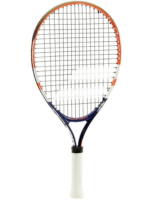 Теннисный набор для детей Babolat French Open Junior 21, с натяжкой, с 3 мячиками Red Felt. Размер 00
