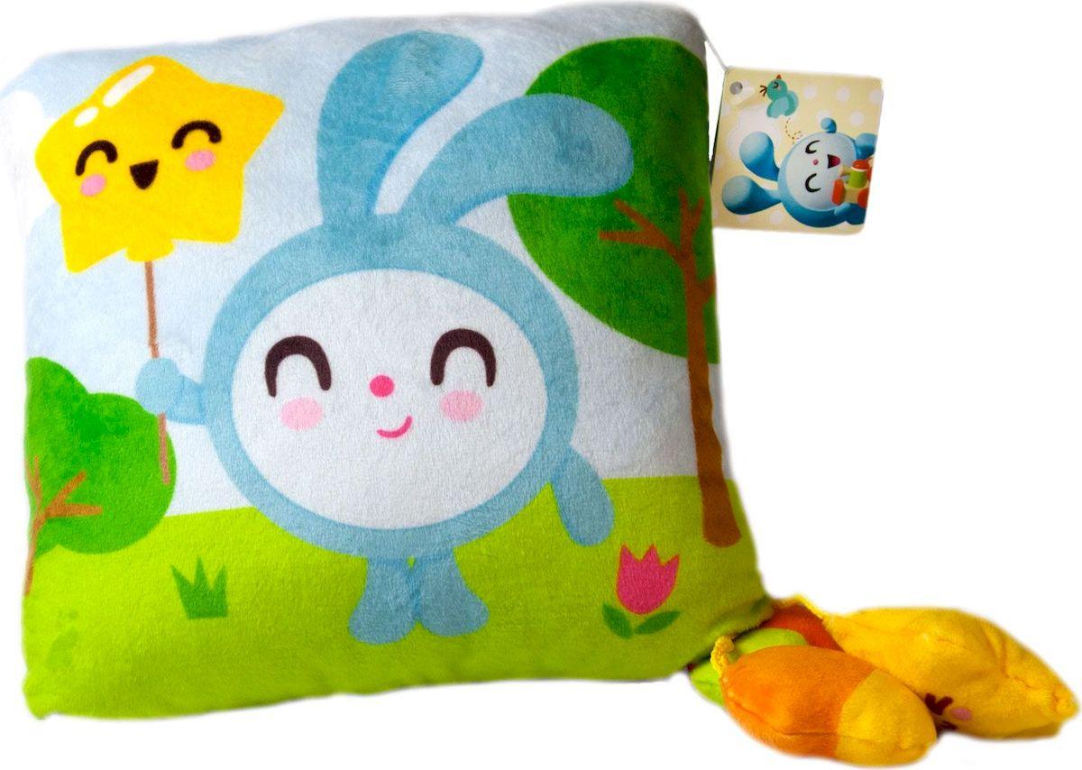 Малышарики Мягкая игрушка-подушка мягкая игрушка малышарики нюшенька 25 см