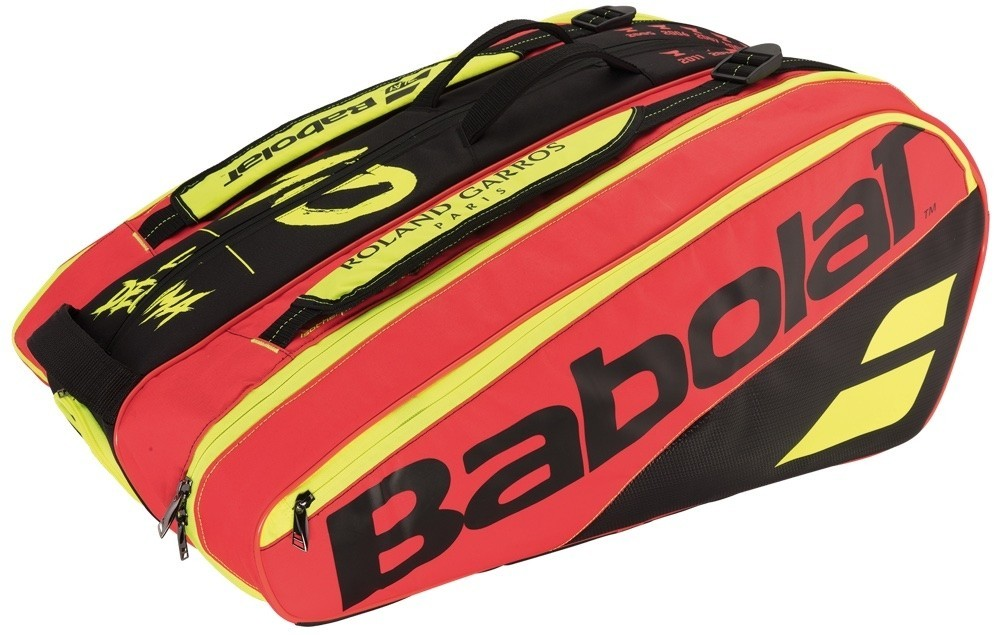 Чехол для теннисных ракеток Babolat X 12 Pure RG/FO roswheel 600d polyester pu cycling bike bicycle saddle seat tail bag black orange