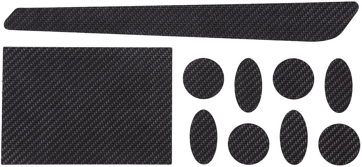 Защита пера BBB CarbonSkin Set, цвет: черный, 80 х 122 мм