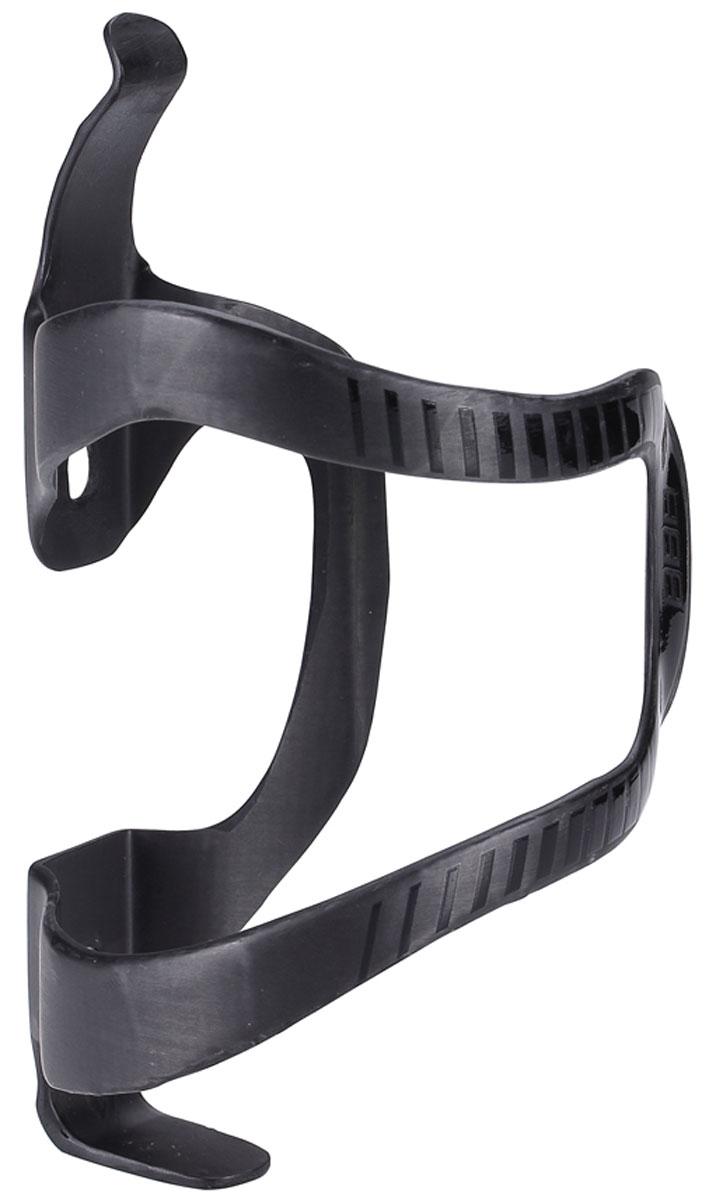 Флягодержатель BBB SideCarbon Right UD Carbon, цвет: матовый черный