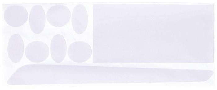 Защита пера BBB ClearSkin Set, цвет: черный, 80 х 152 мм комплект крыльев bbb cityguard front
