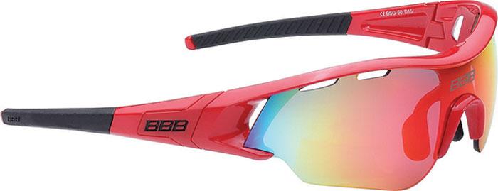 Очки солнцезащитные велосипедные BBB 2018 Summit PC Smoke MLC Red Lens, цвет: красный, черный очки солнцезащитные велосипедные bbb 2018 summit pc smoke mlc red lens цвет красный черный