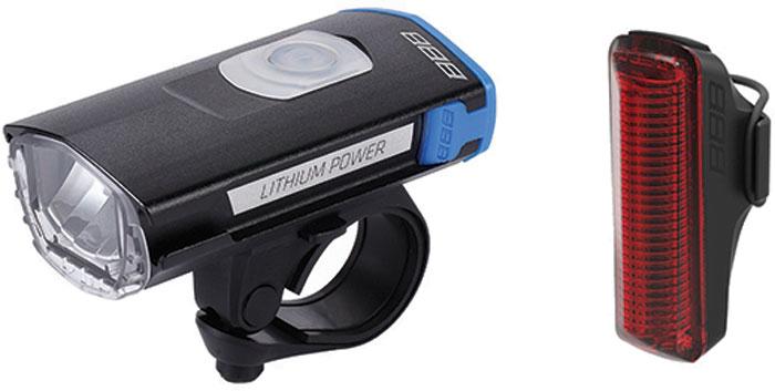 Фонарь велосипедный BBB SwatCombo, передний, с зарядкой от USB фонарь велосипедный bbb spy 17 lumen передний цвет черный 2 x cr2032