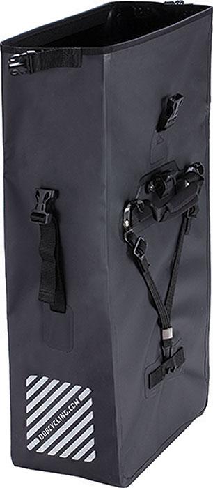 Велосумка под раму BBB PortoVault Waterproof, цвет: черный, 25 л