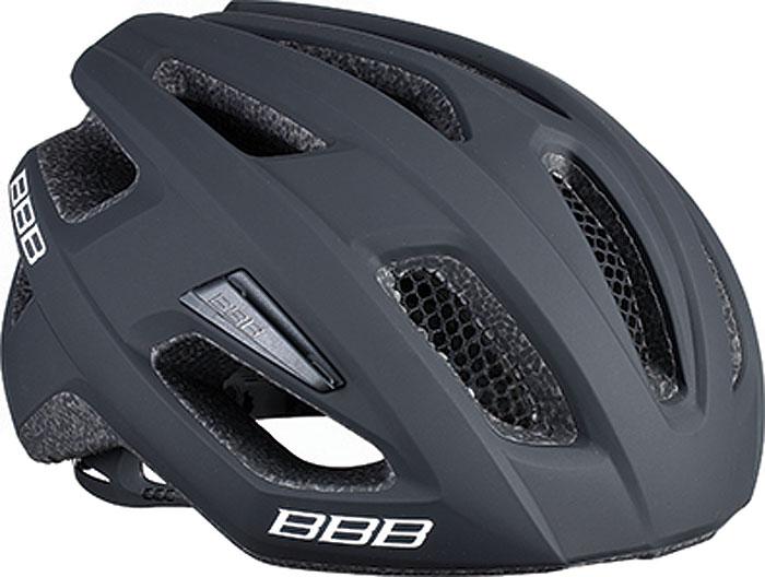 Велошлем BBB 2018 Kite, цвет: черный матовый. Размер S