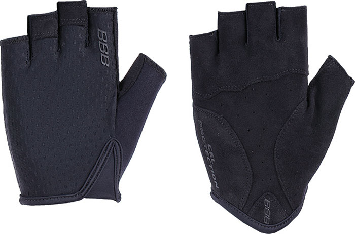 Перчатки велосипедные BBB 2018 Racer, цвет: черный. Размер L