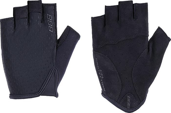 Перчатки велосипедные BBB 2018 Racer, цвет: черный. Размер XXL