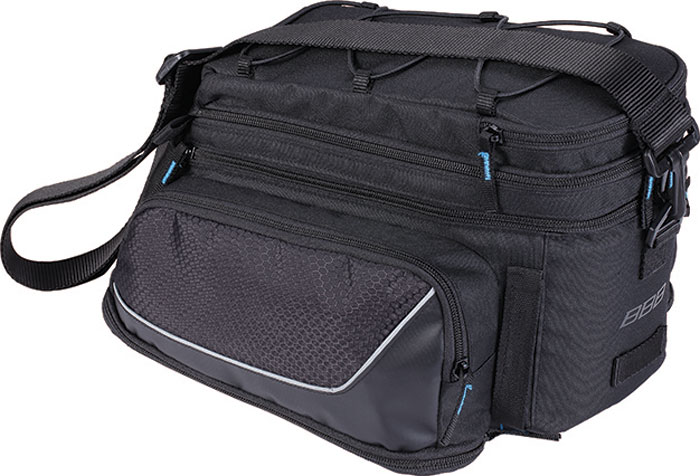 Велосумка под раму BBB Trunkpack, цвет: черный, 6,5-13,8 л