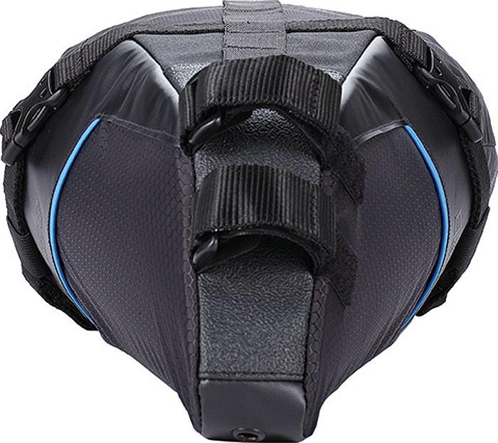 • Легкая нейлоновая сумка под седло с водонепроницаемым чехлом. • Легко крепится на рельсы седла и за подседельный штырь. • Быстросъемное крепление позволяют быстро снять водонепроницаемый чехол. • Усиленное крепление для надежной фиксации. • Прочное дно из легко моющегося материала - защищает от брызг и грязи. • Совместимость: множество стандартных гермомешков. • Водонепроницаемый 10л чехол-сумка со съемной лямкой. • Чехол: 60 x 10-20O см (10л). • Сумка: 28 x 16 x 16 см. • Вес: 450 грамм.
