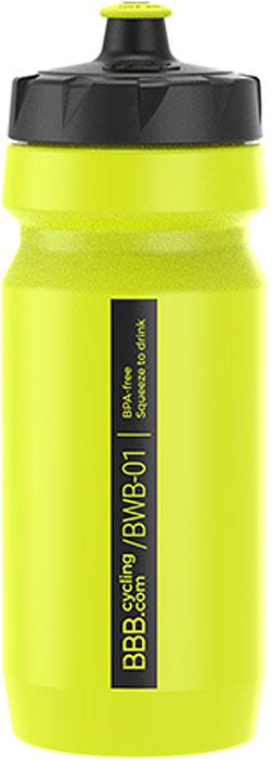 Фляга велосипедная BBB CompTank, цвет: желтый, 550 мл