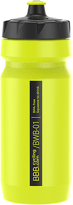 Фляга велосипедная BBB CompTank, цвет: желтый, 550 мл аксессуар bbb bbb фляга