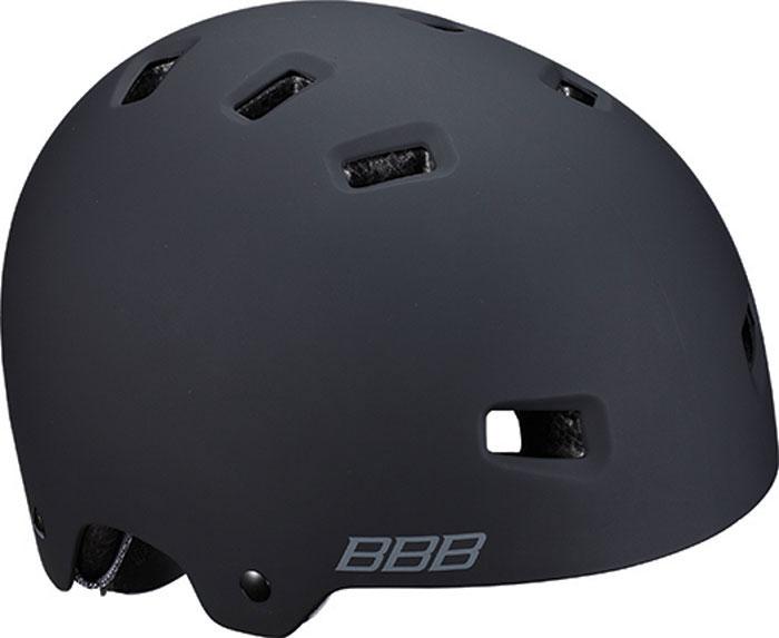 Велошлем BBB 2018 Billy, цвет: черный матовый. Размер M