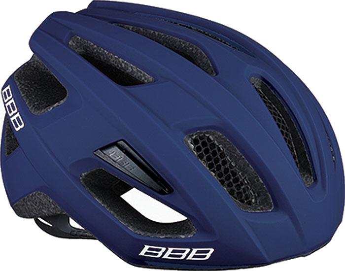 Велошлем BBB 2018 Kite, цвет: синий матовый. Размер M