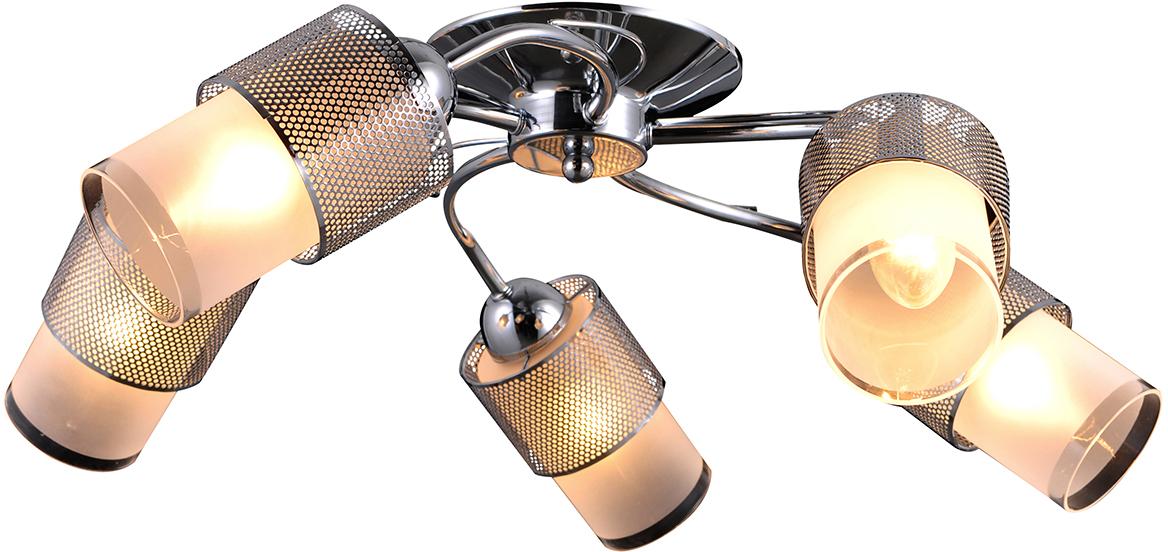 Бра Natali Kovaltseva, 5 х E14, 40W. 75110-5C CHROME75110-5C CHROMEКлассический стиль зародился еще в античные времена. Классика вне времени.Светильники в стиле классика самый любимый декоративный элемент мировых интерьер-дизайнеров.Светильники данной серии от Natali Kovaltseva имеют очень практичный и функциональный дизайн, отличное качество и простота в эксплуатации. Срок службы этих светильников превышает десятилетие. Размеры: D54 x H20 cm