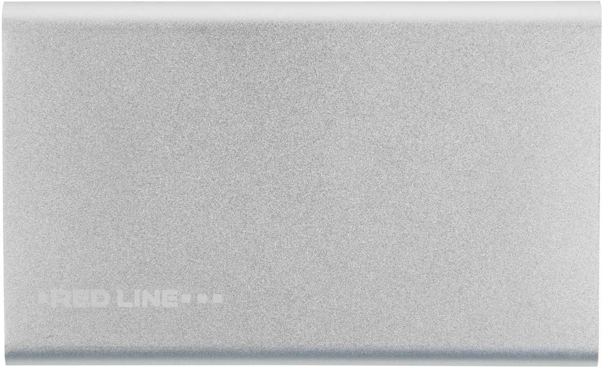 Red Line J01, Silver внешний аккумулятор (4 000 mAh)